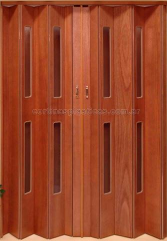 Puertas plegadizas de madera precios mayoristas minorista for Puertas de madera con cristal precio